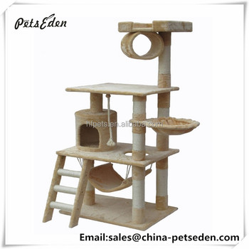 Good Selling Lovely Luxury Simple Wooden Cat Tree