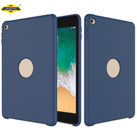 Silicone Case For Ipad mini 4 Rubber Gel Case With Microfiber Linning