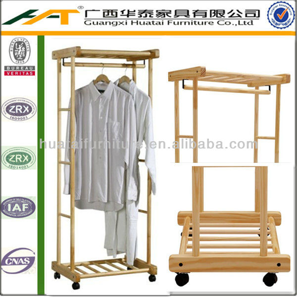 Hotel wood clothes rack Hotel bedroom Furniture