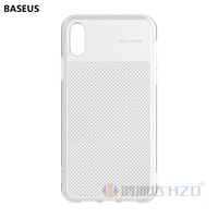 NEW Baseus Glittering Transparent Cell Phone Case Creative Splicing Anti slide Anti slip TPU Baseus Case for iPhone XR JE-413
