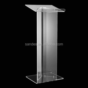 Clear Detachable Cheap Acrylic Church Lectern