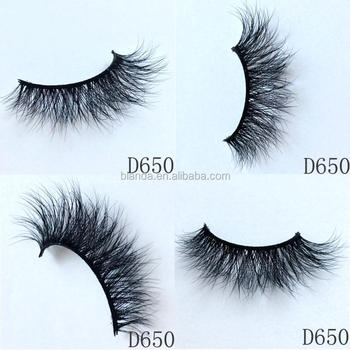 Glamorous Looking and comfortable weightless lash lashes 3D Mink Eyelashes False Eyelashes Super Thick Long and Criss-crossed