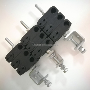 5mm+5mm & 19mm Triple type feeder clamp / optical fiber feeder clamp