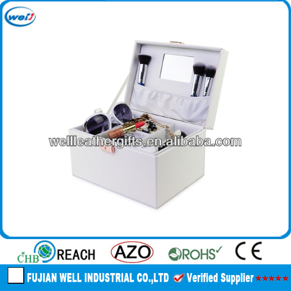 Multifunction use cosmetic storage case