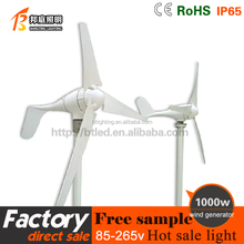 WIND TURBINE 1kw with wind power on grid system 240v, off grid wind power system 24v 48v