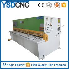electric metal shears Hydraulic stainless steel sheet metal cutting machine