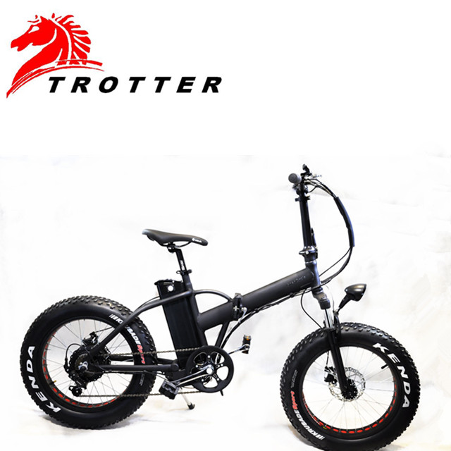 China made  lithium battery  20*4.0  folding electric bicycle