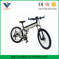 Wholesale white hidden battery mountain bike