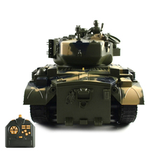 Newest Selling Toys 1/18 M26 RC Army Tank with Sound and Light