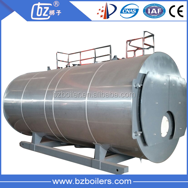 Fire Tube Industrial Oil Gas fired Steam Boiler price for Heating