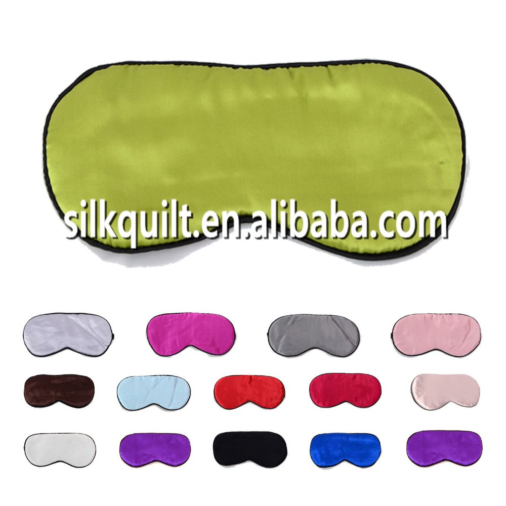 Factory Hot Sale Pure Silk Sleep Eye Mask from China