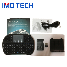 Shenzhen IMO 2.4G Mini I8 wireless Keyboard With Touchpad mouse For Tv Box/Tablet/PC /Laptop Support OEM