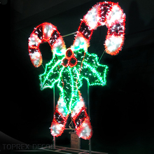 Outside holiday decorations candy cane lights outdoor peppermint candy lights christmas indoor lights