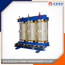 3 phase lower loss step up dry transformer