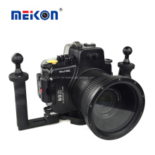 Meikon Wholesale Newest 60M Underwater DSLR Housing For Canon 80D