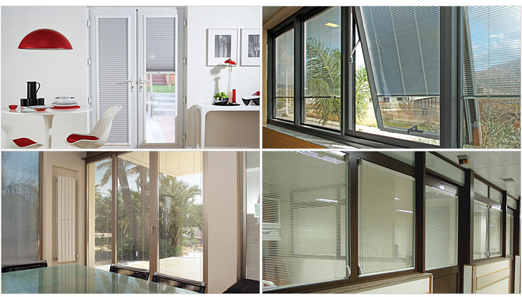 16mm Venetian Blinds Insulated Glass