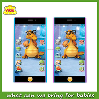 Russian Educational mobile phone toys Music Baby Learning Machine Kids Learning Phone Toy Studying machine for babies