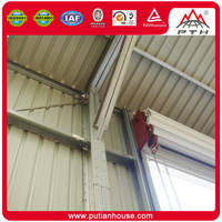 Security splendid EPS sandwich panelwall steel structure building