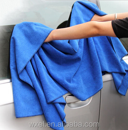 wholesale 80%polyester 20%polyamide used car wash microfiber towel cleaning cloth