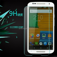 YC brand Best Quality With Best Price Custom Cut Mobile Phone Tempered Glass Screen Protectors for Motorola Moto X