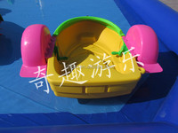 Two kids funny inflatable paddle boat electric paddle boat for sale