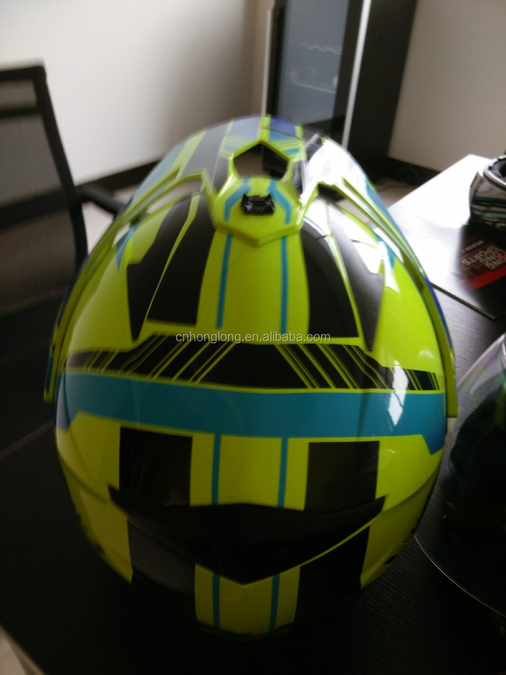 2015 hot selling Motorcross helmet with fashion designed--ECE/DOT Approved