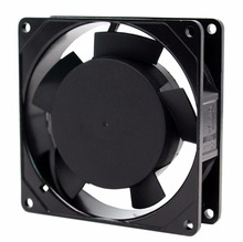 Mini radiator ac motor fan