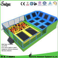 Funny Kids And Adults Indoor Trampoline For Park Items