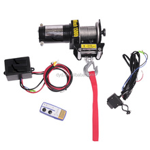 with CE ROHS ATV 1500lbs small electric winch
