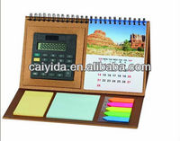 new design fancy paper desk calendar