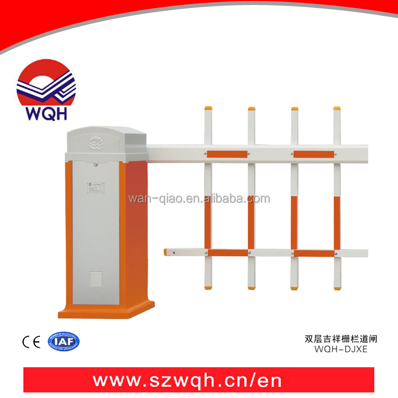 New products ! On Sale ! Parking Lot Barrier Gate For Car Access control with foldable fence
