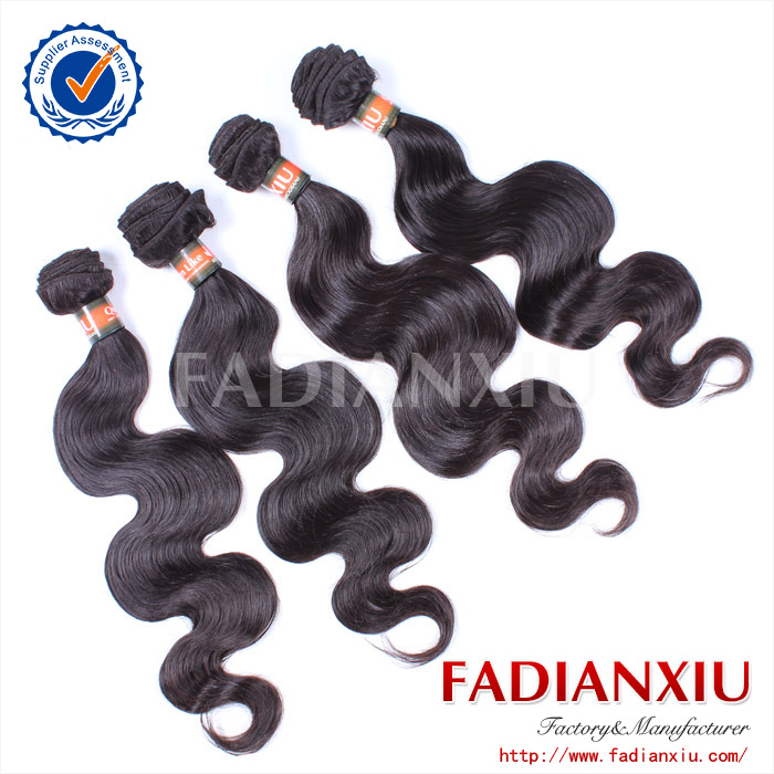 hair accessory brazilian virgin hair/human hair extensions