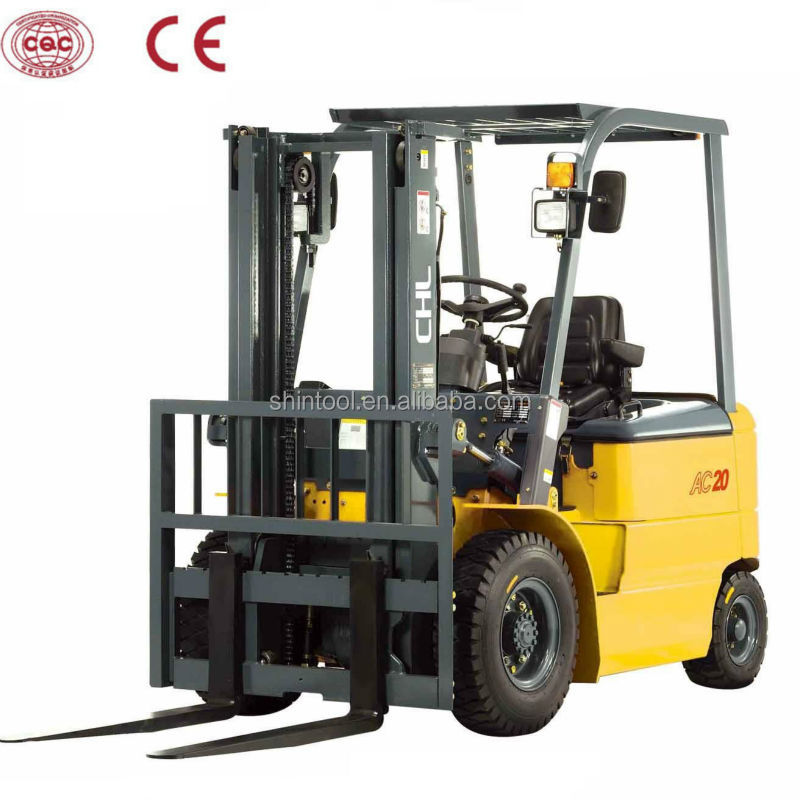 1.8T small batteries for electric forklifts : CPD18 mini reliable three wheel 1.8T small batteries for electric forklifts