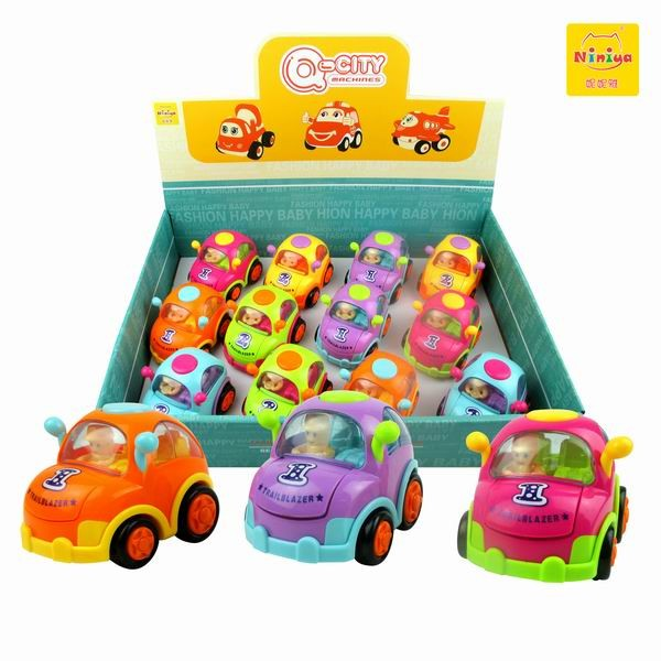 Q-CITY Hot sale inertial cars, kids friction car toys