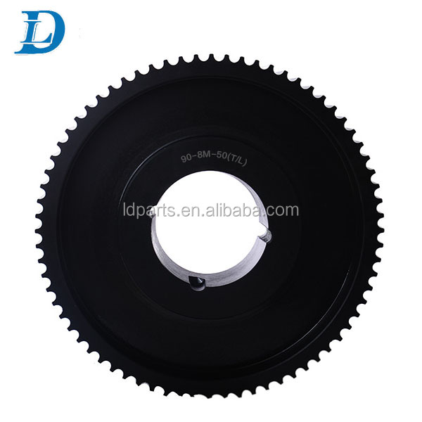 Customized T5 T10 HTD 5M 8M 14M Aluminium Timing Belt Pulley