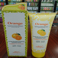 Orange Whitening Exfoliating Facial Cleanser Skin Scrub