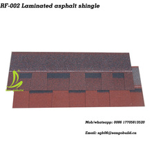 Mosaic architectural typed roof shingle,colored asphalt roofing shingles with 30years warranty