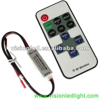 Hot Sale 5-24V RF Mini LED Controller