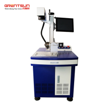 Grentsun Laser 20W Fiber Laser marking machine with Ezcad software for metal label and hardened steel