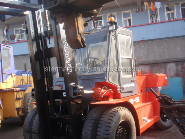 used toyota 15 ton forklift 16 ton forklift for sale