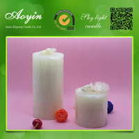 Factory direct china taobao pillar candle decor