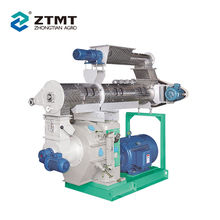 Efficient Machine Sawdust Flat Die Pellet Mill Price with Imported Bearing