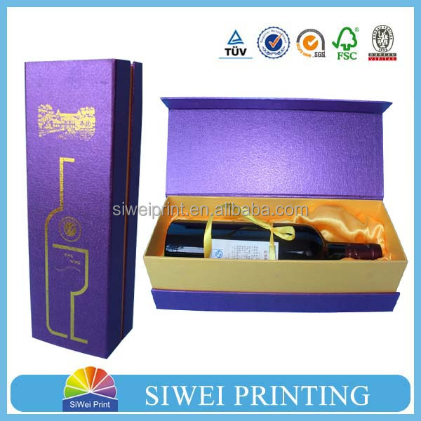 Promotional Paper Wine Box