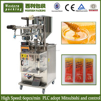 honey stick filling machine, small honey sachet filling machine , honey stick pack packing machine