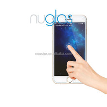 Nuglas wholesale tempered glass screen protector for iphone 6, High quality tempered glass film, MOQ 50pcs Paypal