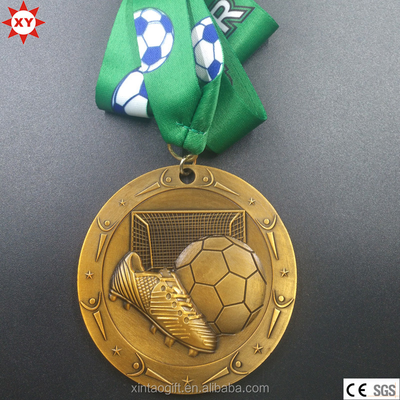 Wholesale Alibaba Replica Medal Soccer