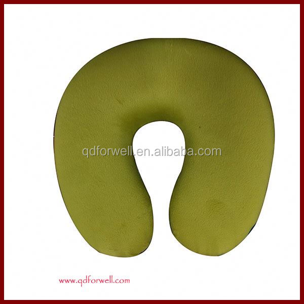 New Patent design memory foam folding travel neck pillow