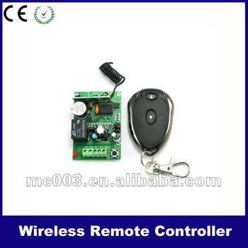 Wireless relay switch control