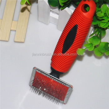 private label pet products good slicker brush