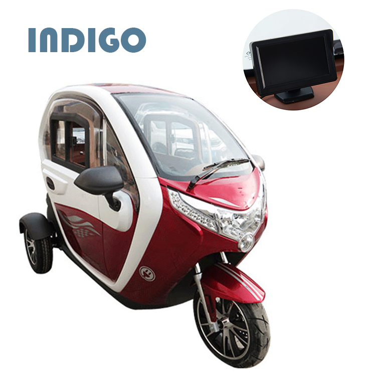 New design electric passenger tricycle for 2 person